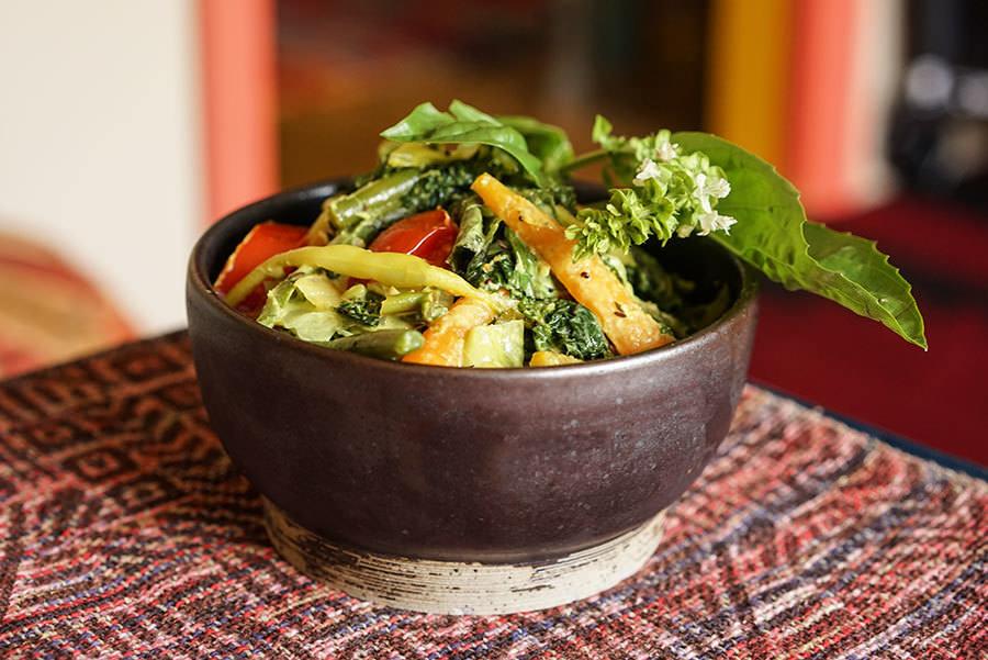Légumes sautés au cari