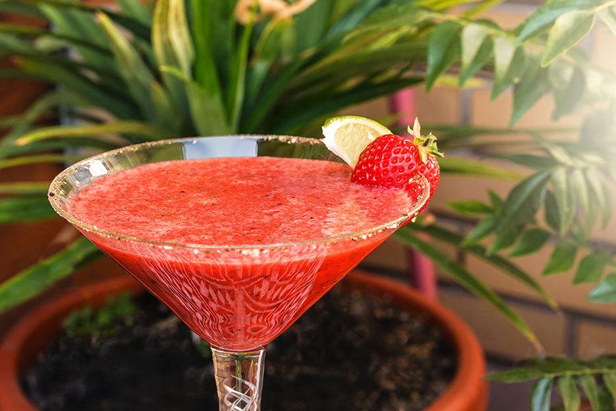 Margarita fraise et 8 poivres