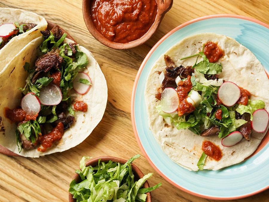 Tacos de carnitas de pato – Tacos de canard
