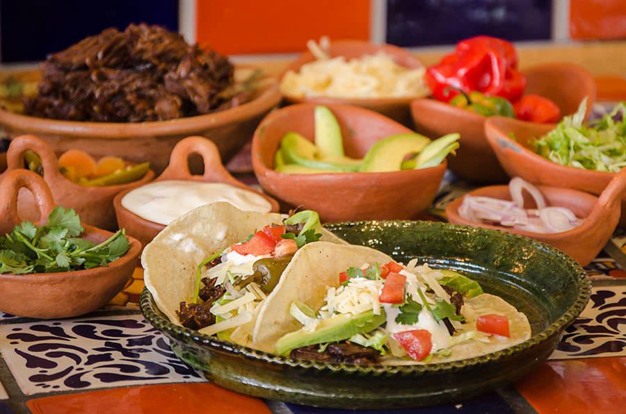 Tacos De Boeuf Tex Mex