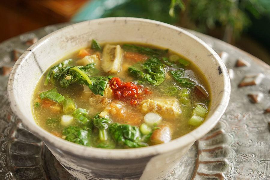 Soupe de poulet au tamarin