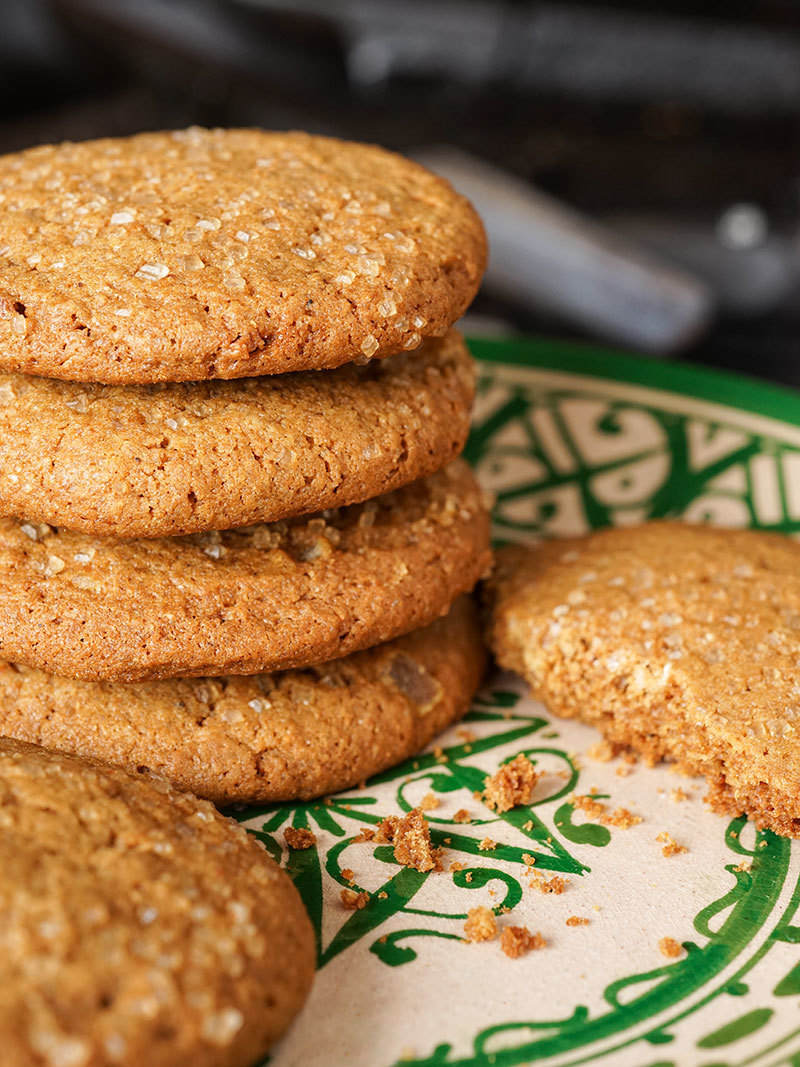 Biscuits gingersnaps triple gingembre