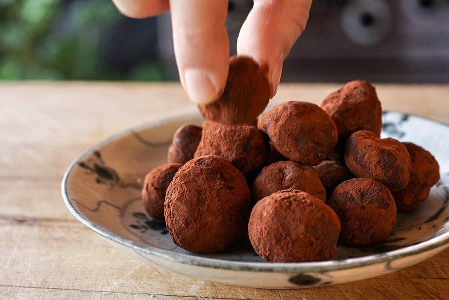 Truffes De Chocolat Aux Poivres