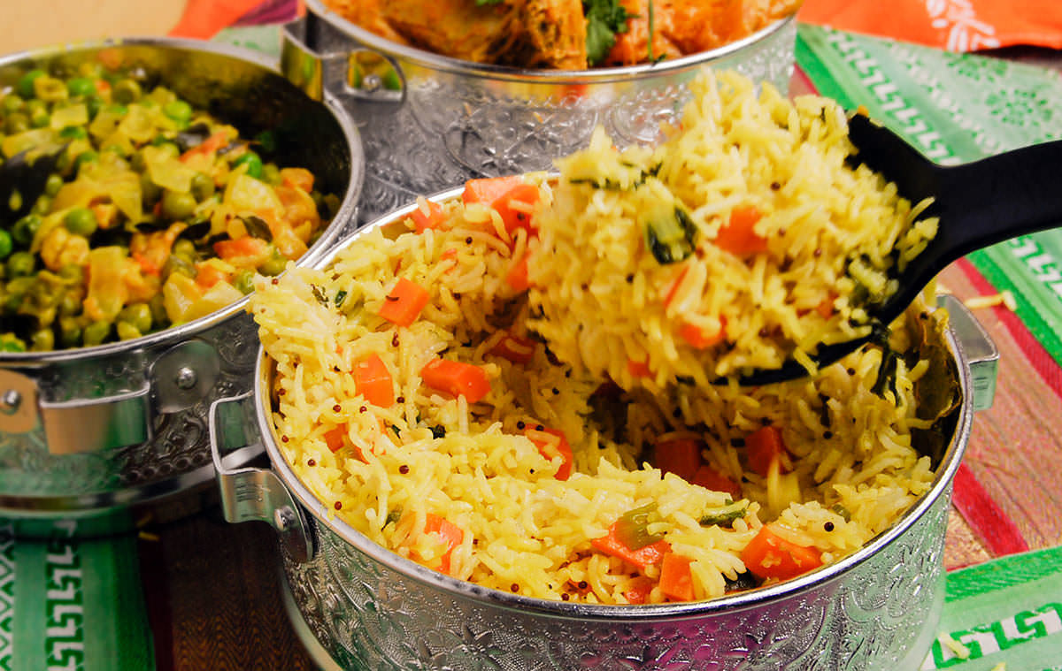 Pilaf de riz aux légumes