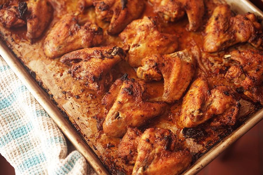 Ailes de poulet Harissa