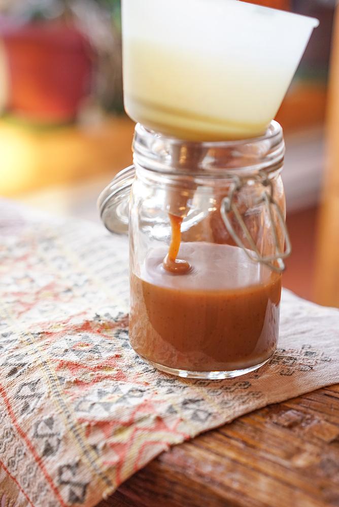 Caramel à la vanille