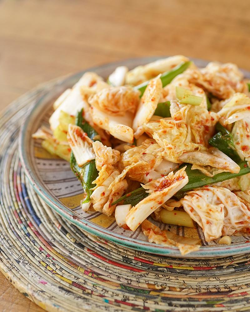 Salade de chou à la coréenne