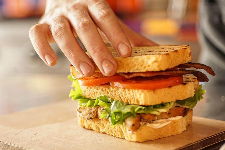 Club Sandwich au Rub de Montréal