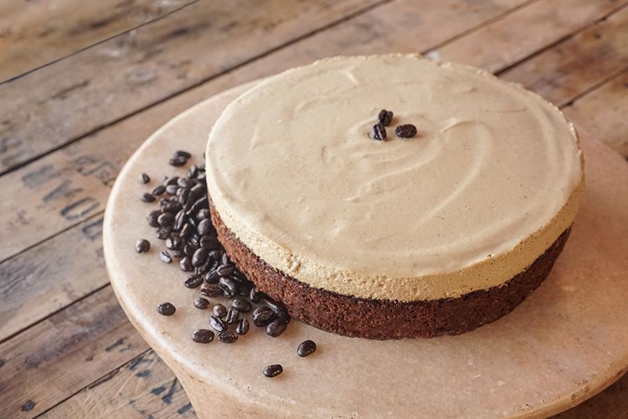 Gâteau mousse au café et blondie aux noix