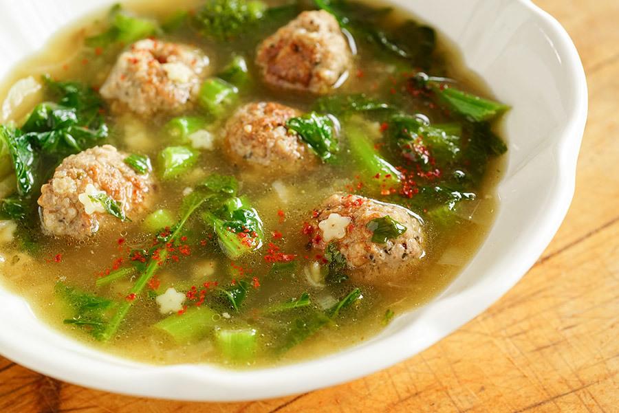 Soupe Noces à l'italienne