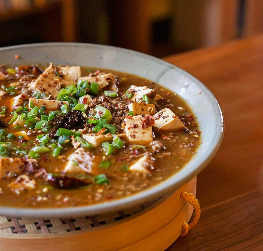 Ma Po Dofu - Tofu de grand-mère Po