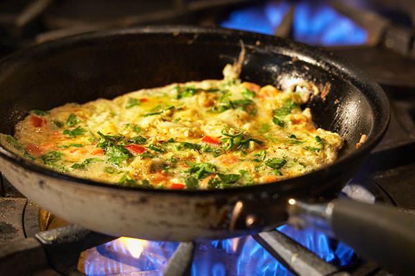 Masala Mo Poro - Omelette indienne