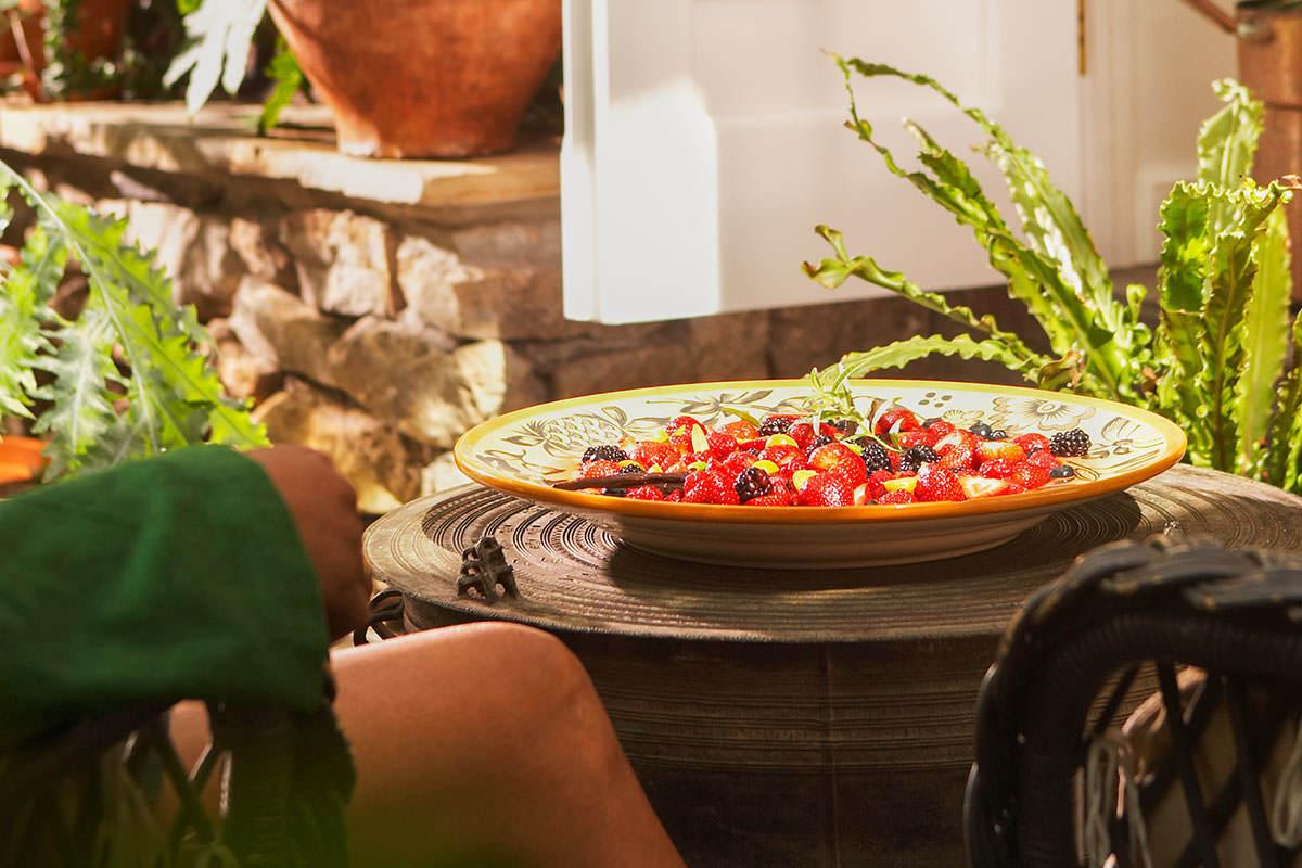 Nage de fruits à la provençale