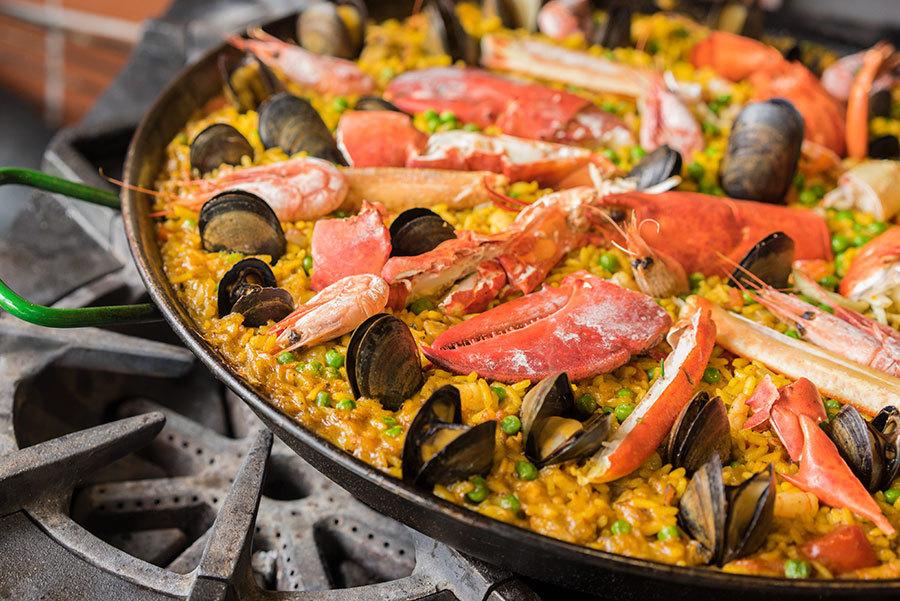 Paella aux fruits de mer du Québec