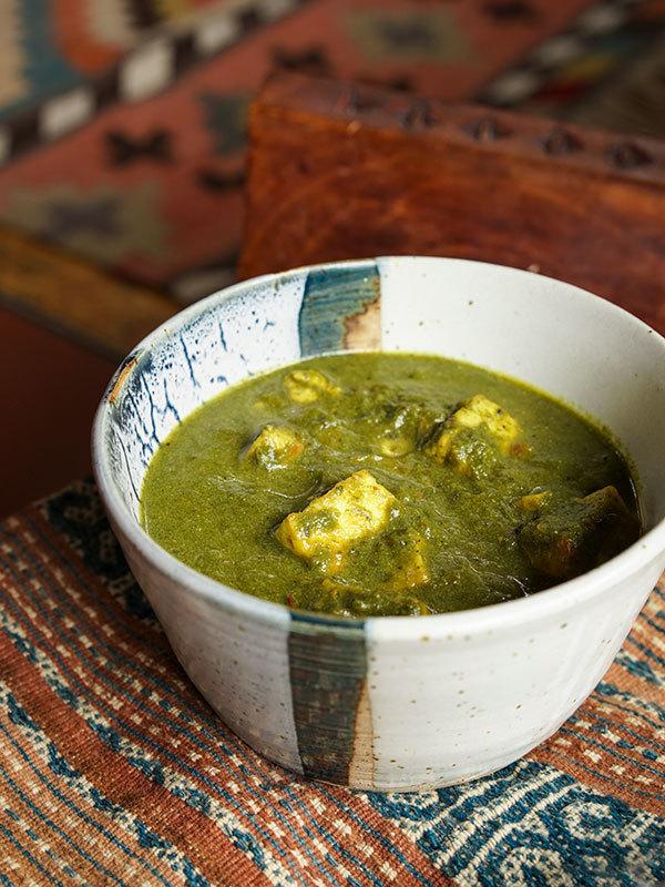 Palak paneer – fromage indien aux épinards