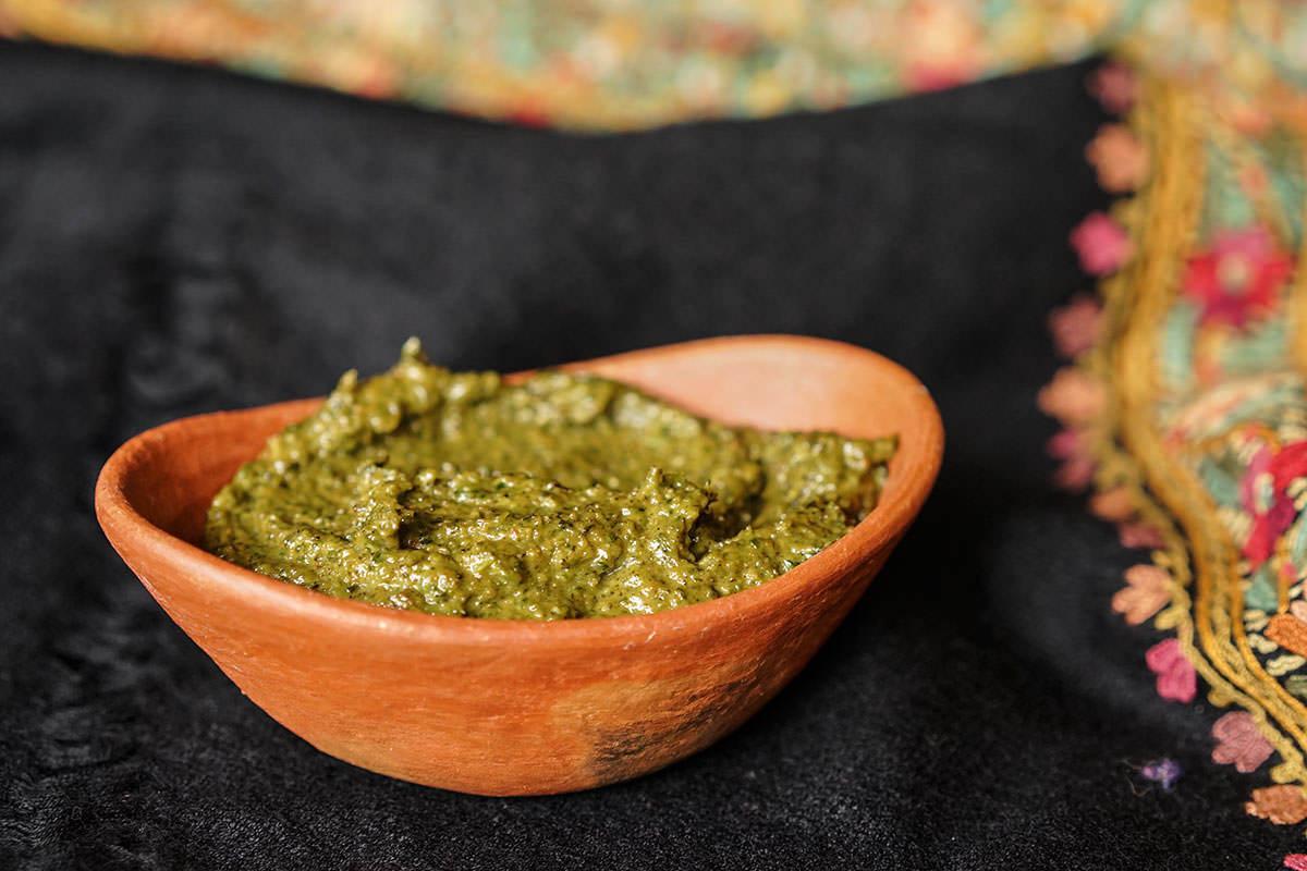 Pesto coriandre et graines de citrouille