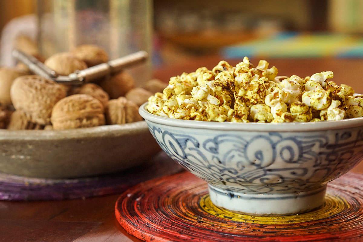 Popcorn au cari