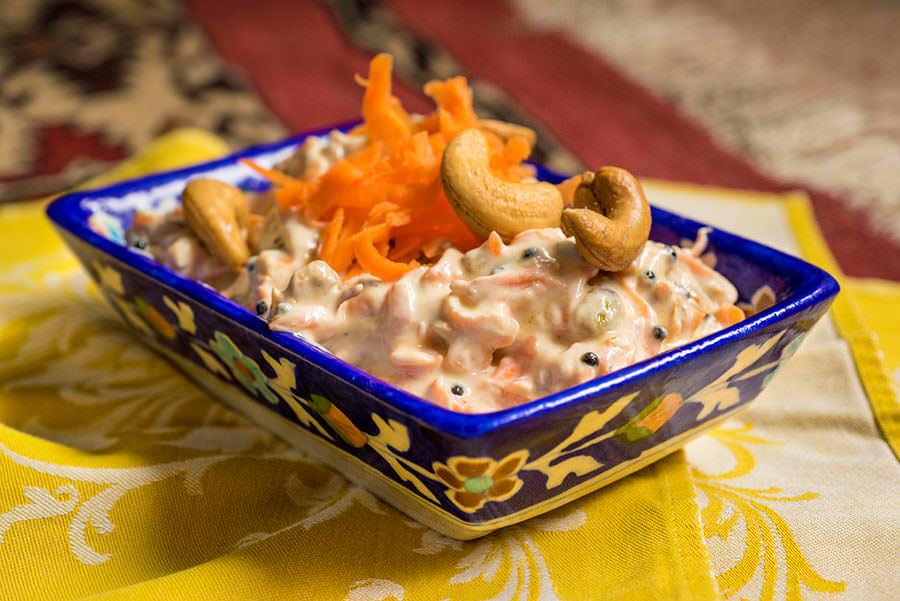 Raita de carottes