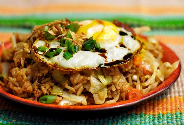 Riz Frit Indonesien