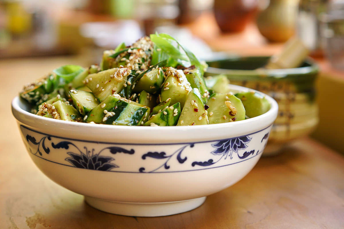 Yunnan Cucumber salad