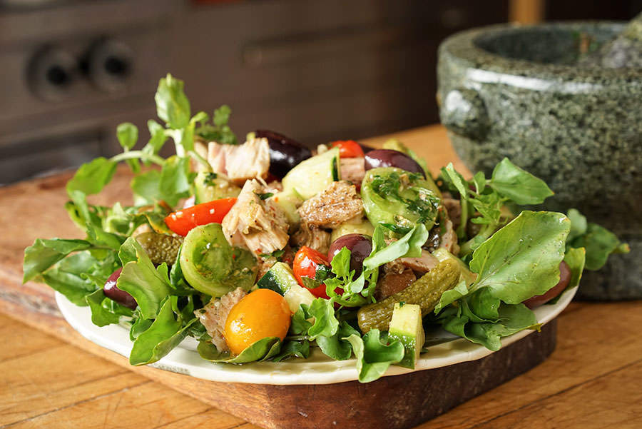 Salade De Thon Et Cresson