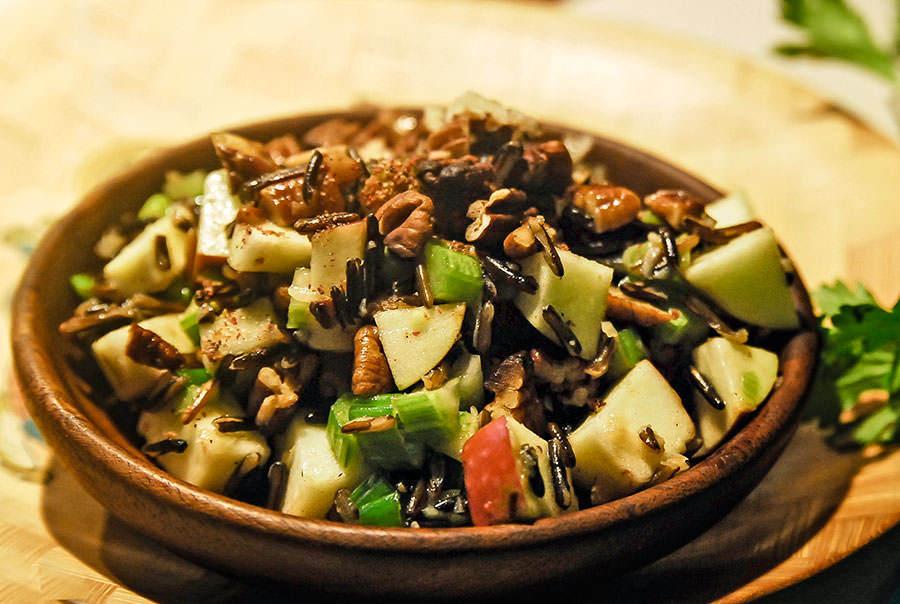Salade Riz Sauvage