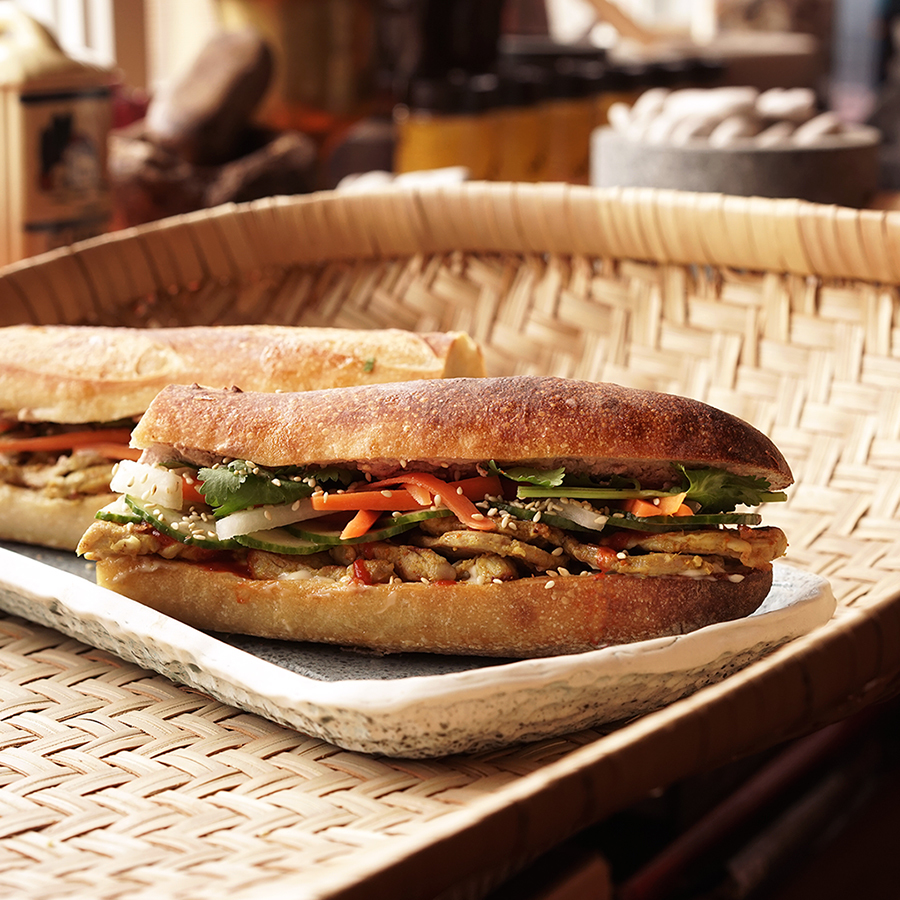 Sandwich de porc cambodgien