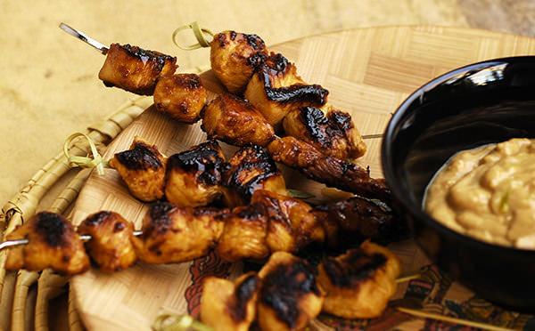 Sate Ayam - Satés de poulet
