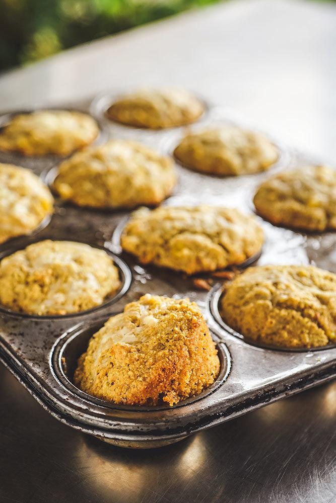 Muffins salés au maïs