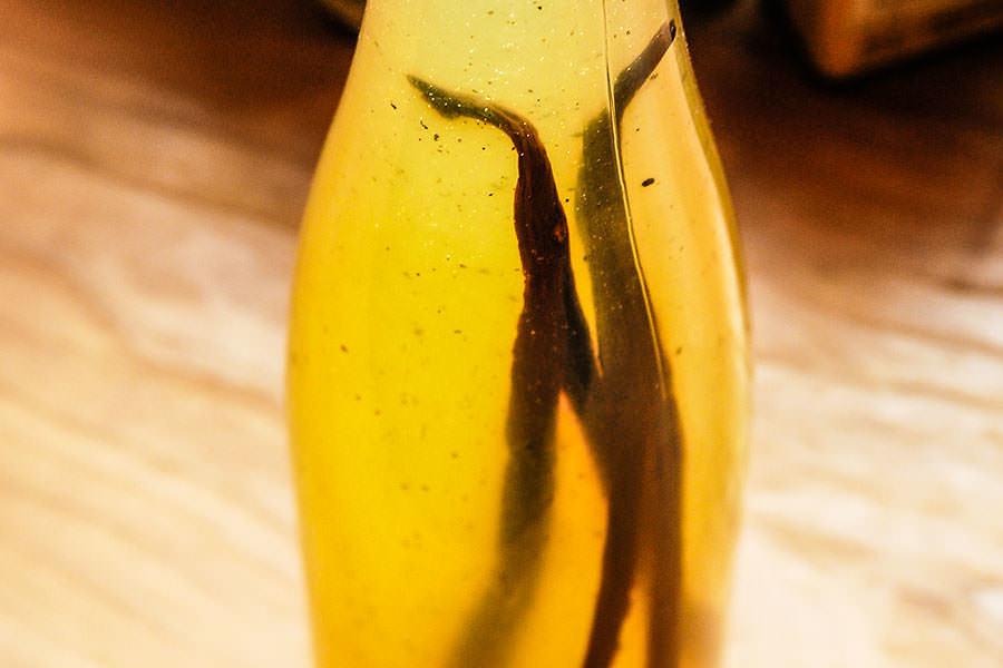 Sirop de citron vanillé
