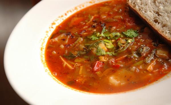 Soupe «du frigo» à la turque