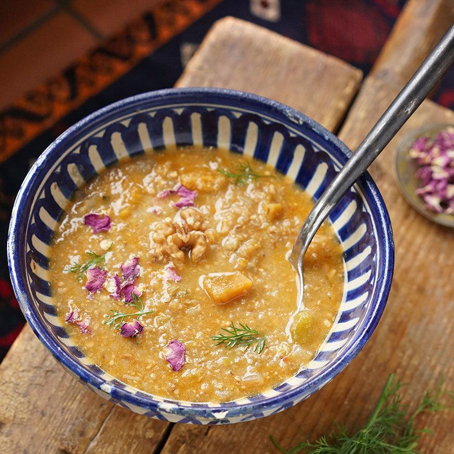 Soupe de courge style Ouzbek