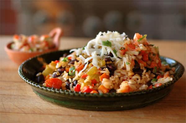 Pilaf de riz Tex-Mex