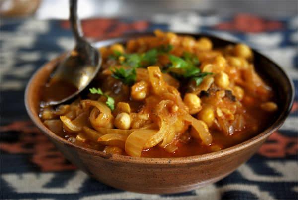 Pois chiches à la marocaine - Recette | Épices de cru